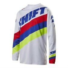 SHIFT MX 2017 Motocross Mtb Jersey whit3 Tarmac Blanco Enduro MX Quad Blanco