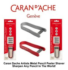 Caran Dache Pencil Peeler Pencil Sharpener Shaver Artist With 3 Refills