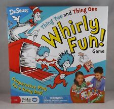 Dr. Seuss Thing Two Thing One Whirly Fun Game - New