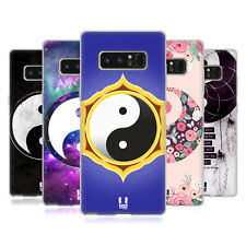 HEAD CASE DESIGNS YIN AND YANG COLLECTION SOFT GEL CASE FOR SAMSUNG GALAXY NOTE8