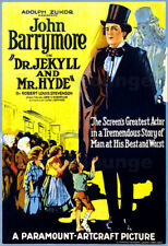 Poster / Leinwandbild DR. JEKYLL AND MR. HYDE, right: John Barrymore (as '...
