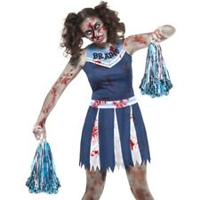 Halloween TEENAGER Donna Zombie Cheerleader Costume vestito da Smiffys