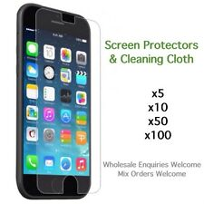 iPhone 8 screen protectors standard or tempered glass with cloth wholesale