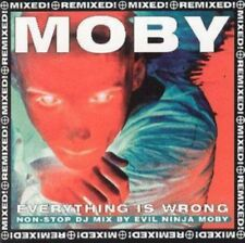 MOBY - Everything Is Wrong - Mixed & Remixed & Remixed & Mixed NUOVO CD