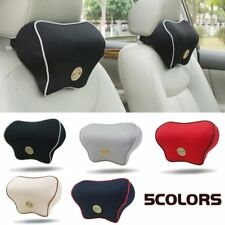 Auto Car Seat Pad Memory Foam Travel Pillow Head Neck Rest Support Cushio HK