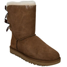 Womens Ugg Australia Bailey Bow Ii Boots In Chestnut From Get The Label