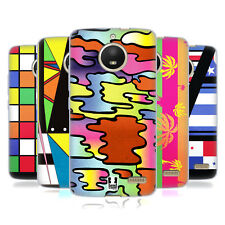 HEAD CASE DESIGNS 1980S PRINTS AND PATTERN SOFT GEL CASE FOR MOTOROLA MOTO E4
