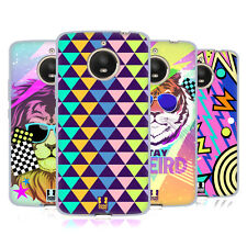 HEAD CASE DESIGNS BACK TO THE 80S SOFT GEL CASE FOR MOTOROLA MOTO E4 PLUS
