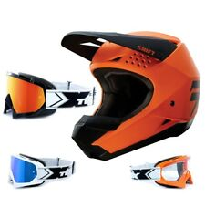 SHIFT whit3 MX MTB enduro motocross NARANJA DE CASCO two-x RACE Gafas de Cross