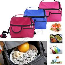 Portable Picnic Lunch Bag Insulated Storage Thermal Cooler For School Office 1pc