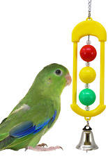 6460 Bonka Bird Toys Traffic Light cockatiels parakeets finch toy canary cages