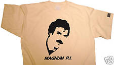 FabTab T-shirt - MAGNUM P.I. feat Tom Selleck PI, S-XXL