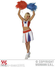 S3499 Costume Donna Cheerleader rivestimento Cheerleader anfeuerung TAGLIA S-L