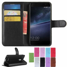 PU Leather Stand Wallet Card Slot Flip Case Cover For Leagoo M5 Edge Smartphone
