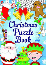 Christmas Fun Puzzle Book Fillers Fundraising Toy.Choose quantity.