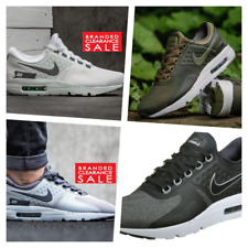 BNIB New Men Nike Air Max Zero Essential Black White Grey Olive Size 7 8 9 10