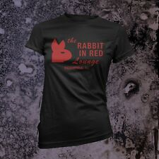 Rabbit in Red t-shirt, Women's Black - Michael Myers Halloween Movie 1978 Horror