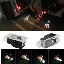 2x Audi Projector Puddle Courtesy Shadow Laser Light - Cree LED - Bright Logo