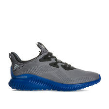 Junior Boys adidas Alphabounce Trainers In Grey- Lace Fastening- Cushioned