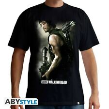 THE WALKING DEAD - Tshirt Daryl Crossbow man SS black - basic