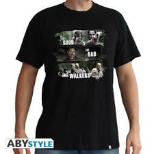THE WALKING DEAD - Tshirt Good,Bad,Walkers man SS black - Basic