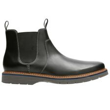 Clarks NEWKIRK HILL BLACK LEATHER Nero mod. NEWKIRK-BLACK