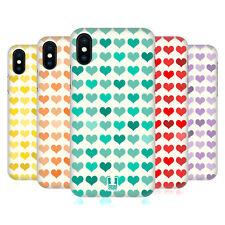 HEAD CASE DESIGNS TENERI CUORI COVER RETRO RIGIDA PER APPLE iPHONE TELEFONI