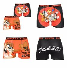 2 Pack Novelty Boxer Shorts Boxers Trunks Looney Tunes Taz Donald  S M L XL 2XL