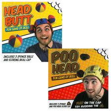 Head Butt Poo Head Novelty Family Skill Ball Indoor Outdoor Kids Adults Fun Game