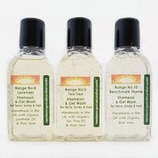 HEAD LICE NITS SCABIES removal - Organic Shampoo & Body Wash Sample Pack Remedy