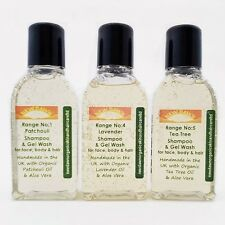 DERMATITIS DANDRUFF relief - Organic Shampoo Sample Pack for Flaky Dry Scalp