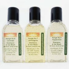 GREASY OILY HAIR relief - Organic Cleansing Shampoo & Conditioner Sample Pack