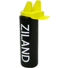 Wide mouth hygienic mouthpiece 1 litre Black Sports Bottles  4, 6 or 8 bottles