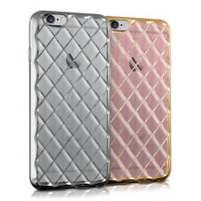 kwmobile FUNDA TRANSPARENTE PARA APPLE IPHONE 6 6S FUNDA PROTECTORA TIPO BUMPER