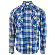 Levis Chemise Barstow Western Bleu Homme
