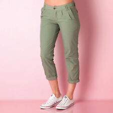 Womens Franklin And Marshall Lily Slim Fit Pants In Green From Get The Label