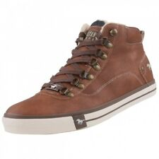 NEUF Mustang Chaussures pour hommes High-Top Baskets doublé bottes bottines
