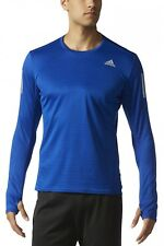 Adidas manches longues homme maillot de course Response Tee M Collegiate Royal