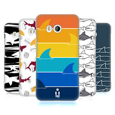 HEAD CASE DESIGNS SHARK PRINTS HARD BACK CASE FOR HTC U11 / DUAL