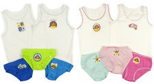 Boys and Girls Hey Duggee Vests and Pants Sets 100% Cotton 18-24M To 4-5 Years