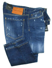 DSQUARED2 Jeans | Slim Jean SIZE 54 navy blue distressed