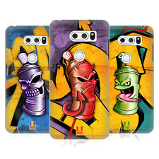 HEAD CASE DESIGNS MOSTRI DELLA BOMBOLETTA COVER RETRO RIGIDA PER LG V30