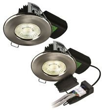 Halers H2 Pro 700 LED Downlights Dimmable Fire Rated IP65 Warm or Cool 11W