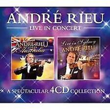 ANDR Rieu - Andre Rieu Live In NUOVO 4 x CD