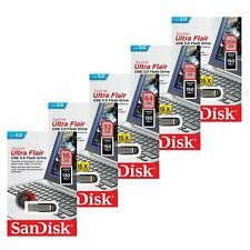 SanDisk 16/32/64/128GB Ultra Flair CZ73 USB 3.0 Chiave Flash Drive Chiavetta