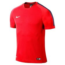 NIKE Squad 15 Flash short sleeve Training Game Top, Red & Blue, 644665-662 - 2XL