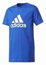 adidas Performance enfants sport loisir T-shirt Essentials Logo bleu blanc