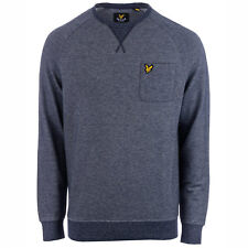 Lyle And Scott Sweat col rond Oxford Bleu Homme