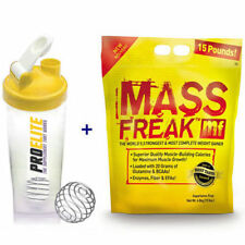 pharmafreak MASSA FREAK 5.45KG KG / 6.8kG Weight Gainer + Proelite SHAKER