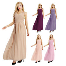 Maxi Dress Bridesmaid Formal Long Evening Gown Prom Women Party Ball Cocktail